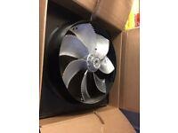 630mm diameter plate fan ziehl-abegg extract fan