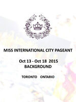 2015 Miss International City Pageant Contestants (Awards $1000)
