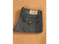 True Religion men's Boot Cut jeans. Brand new. Waist 34