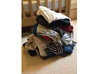 Bag of maternity clothes