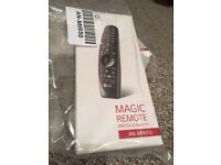 LG magic remote control for smart TVs 2016