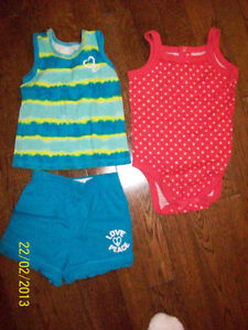 The Children's Place Outfit, Size 6-9 & 12 months