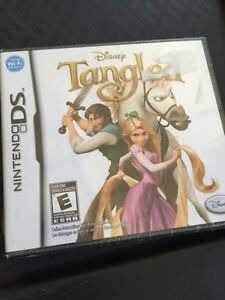 BRAND NEW IN PLASTIC TANGLED NINTENDO DS GAME