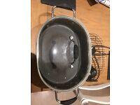 Prestige- plug in grill / casserole pan