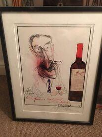 Ralph Steadman Penfolds Signed Print