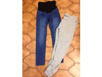 Maternity jeans / joggers size 10