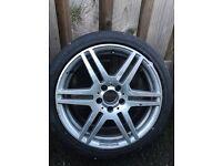 235/40/r18 Mercedes wheel
