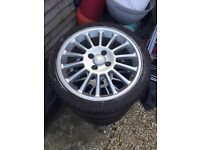 """17"""" Ford mondeo st200 alloys"""
