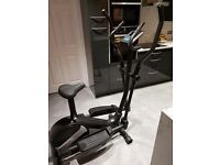 Roger Black 2 in 1 cross trainer & exercise bike