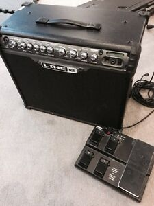 !! LINE6 SPIDER III75 AMP and pedal !!
