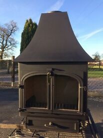 Clearview 650 wood burner/multi fuel stove