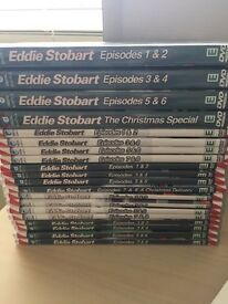 EDDIE STOBART COLLECTION DVDS AND BOOKS ETC