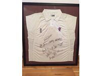 Wales signed cricket top