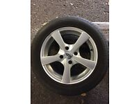 195/60 R15 alloy wheels withs tyres