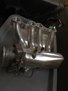 Big valve 8v Volkswagen head/  intake ported/polished
