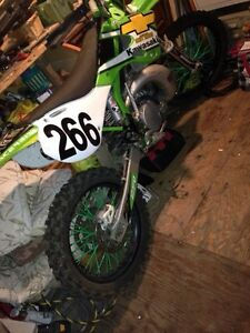 2001 kx 250  clean and fast