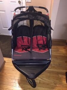 Double Stroller with speakers!