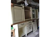 Kitchen base and wall units (Watton, Norfolk)
