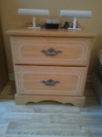 BED ROOM DRAWERS / TIROIRS