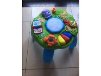 Leapfrog Animal Adventure Learning Table in excellent condition