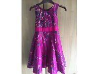 Ted Baker girls dress age 5-6 years