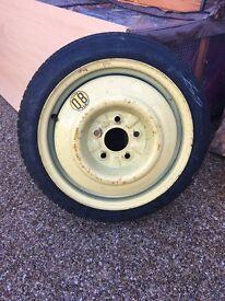 Space saver tyre for Mazda 6 2003 onwards or similar
