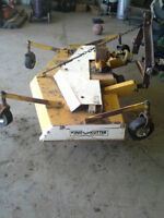 king kutter 3 pt hitch finishing mower