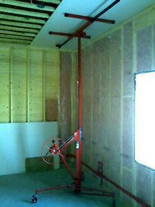 DRY WALL LIFTER DRYWALL LIFTER $35.00 PER WEEKEND RENTAL