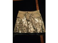 Ted Baker stunning sequin girls skirt