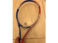 Wilson BLX tour tennis racquet - recently restrung!
