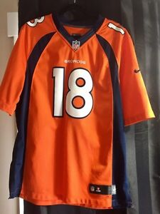 Mens Authentic Peyton Manning Jersey size large  Strathcona County Edmonton Area image 1