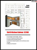 High-quality Hard Maple Kitchen and Vanity Cabinets on Sale