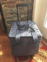 Large Rolling Craft Tote