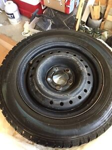 4 x 195-65-R15 Winter Tires and Rims