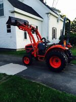 Kioti CK25 4wd tractor with loader