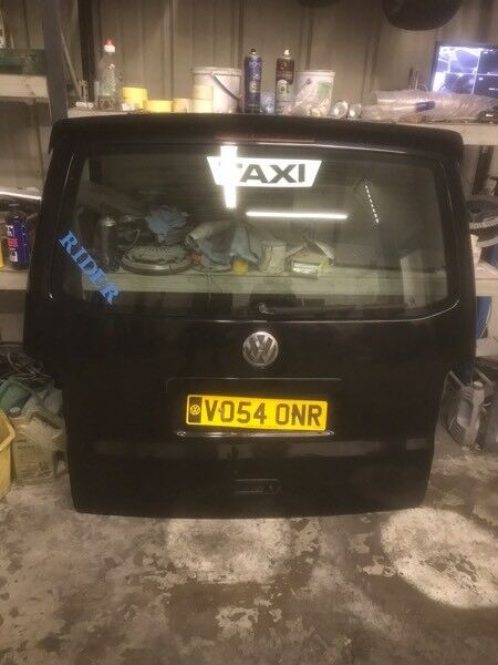 Vw t5 tailgate boot lid