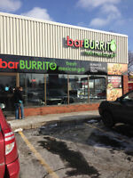 New Barburrito Fresh Mexican Grill Opportunity in Kingston