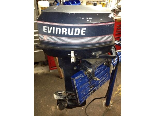 Evinrude 25hp for sale canada for Housse pour chaloupe