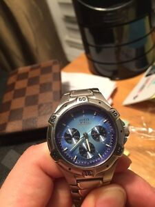 Emporio Armani and guess watch
