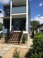 New 2 bedroom basement suite for rent /immediate occupancy