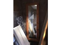 Oak and pine mirrors for sale