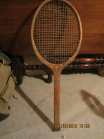 TENNIS RACKET AND BADMITTEN RACKETS WITH PRESSES