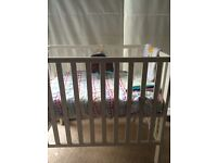Mamas and Papas petite cot white for £50