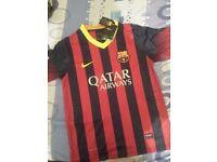 2 FC BARCELONA Football Shirt Size M