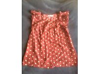 Work top, day top, dinner top size 8