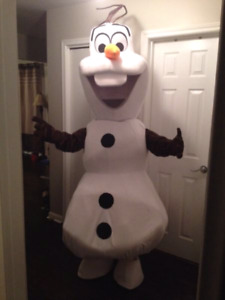 Frozen Olaf adult sized mascot costume