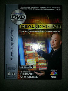 DEAL OR NO DEAL DVD GAME ONLY 9$ WITH HOWIE MANDEL!!!!! London Ontario image 1