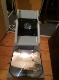 Old style overhead projector - portable OHP