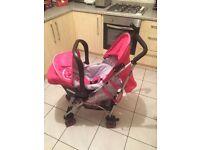 Koochi stroller/pushchair with car seat
