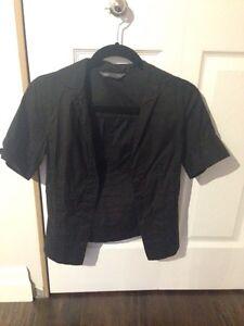 Armani Exchange black women's blouse size small. Kitchener / Waterloo Kitchener Area image 1